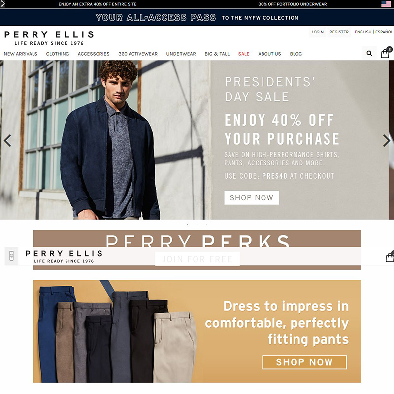 Homepage Designs (Ecommerce)